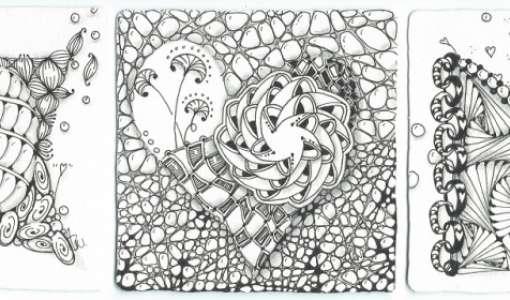 Zentangle® - die meditative Zeichenkunst