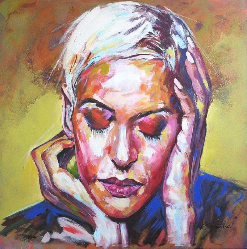 Faszination expressives Porträt