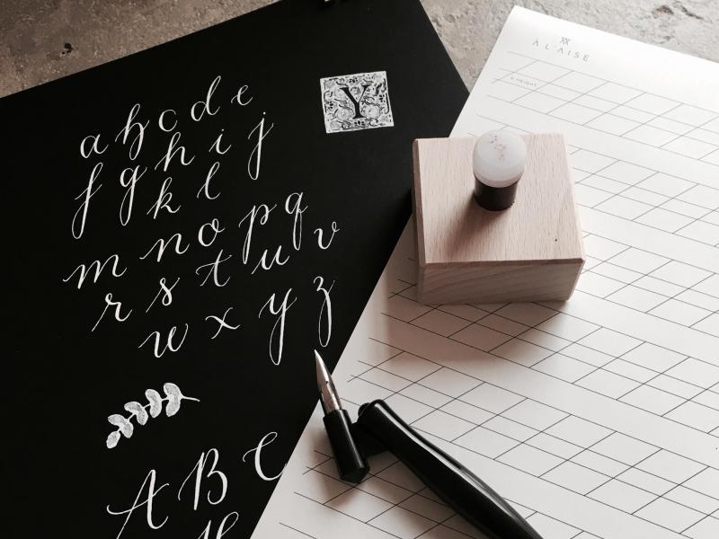 Modern Calligraphy: Englische Schreibschrift mit der Spitzfeder
