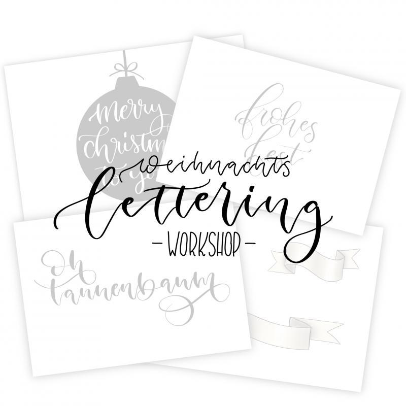 Weihnachts-Workshop Handlettering